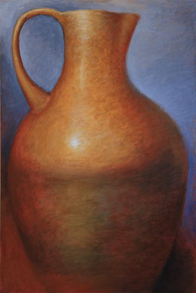 Large Ocher Amphora