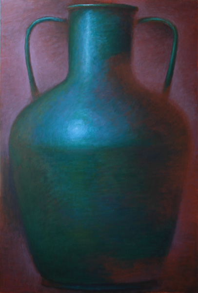 Large Green Amphora