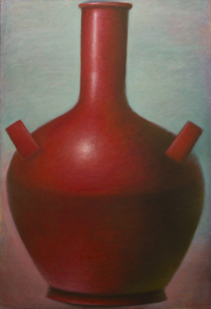Large Red Amphora