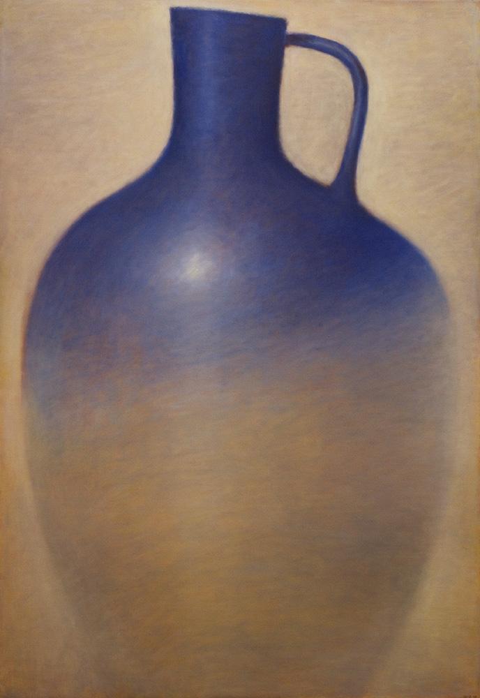 Large Blue Amphora