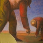 "Painting ""Two Farmers"""